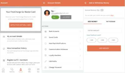 How to Transfer Money From FreeCharge Wallet to Bank Account   NDTV Gadgets360.com