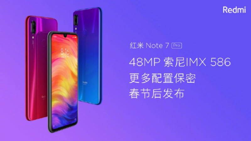 Redmi Note 7 Pro Said to Pass 3C Certification, Tipped to Launch
