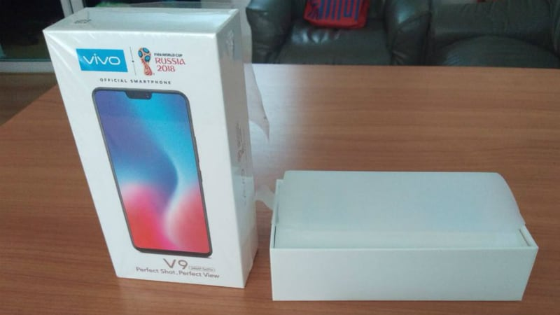 Vivo V9 Price Retail Box Specifications Leaked Ahead Of