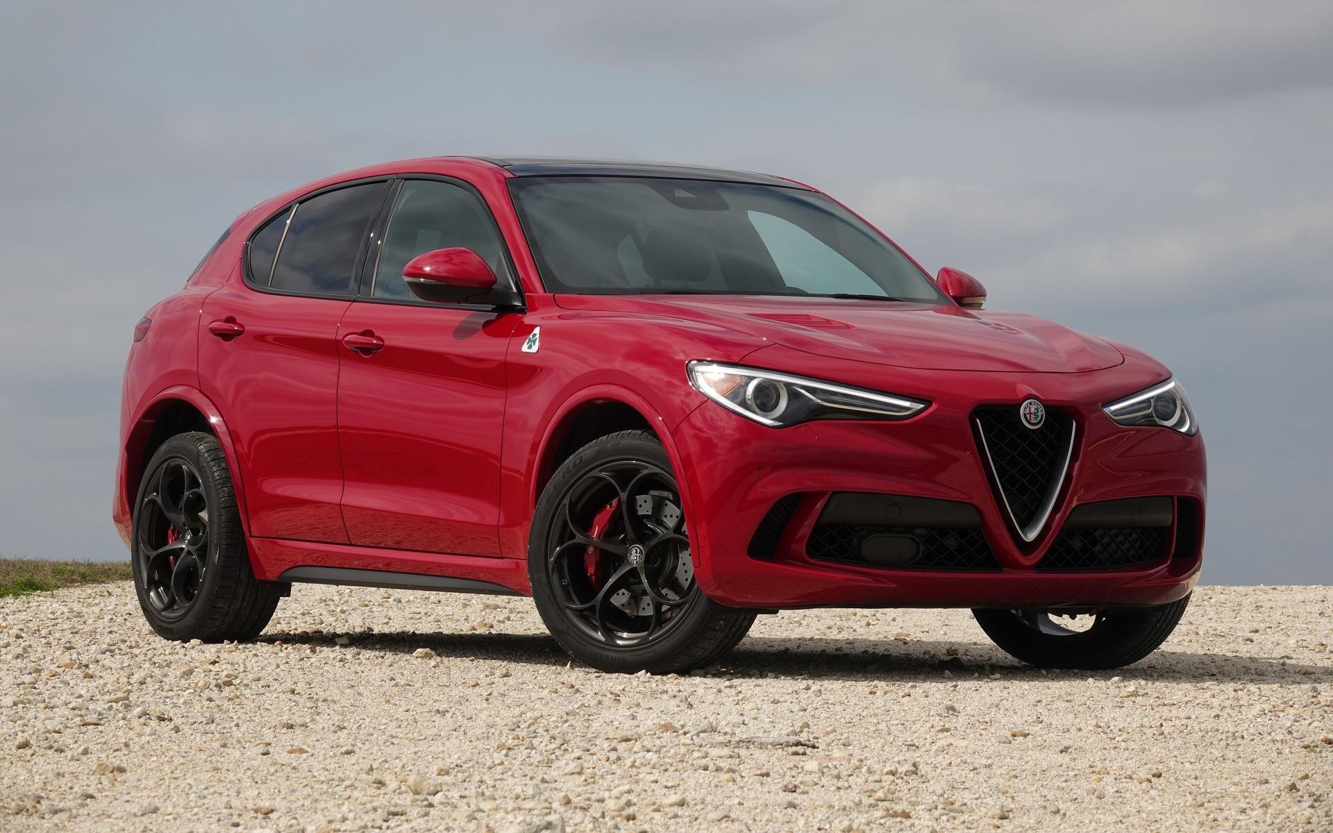 Photo Wallpaper Car Sound System 2018 Alfa Romeo Stelvio Quadrifoglio A Wild Beast In An