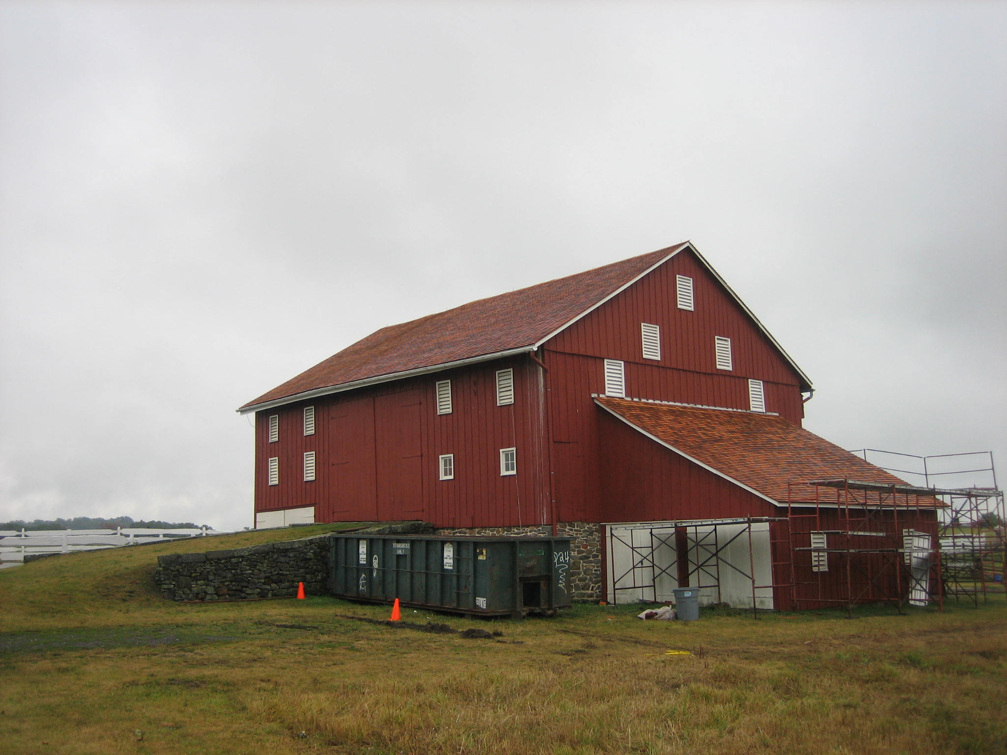Barn Doors Images Joseph Sherfy Barn Roof Replaced | Gettysburg Daily