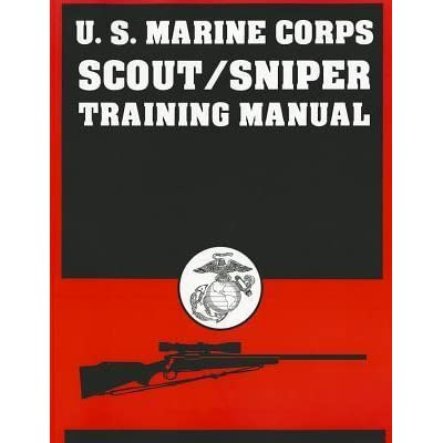 US Marine Corps Scout/Sniper Training Manual by Desert Publications