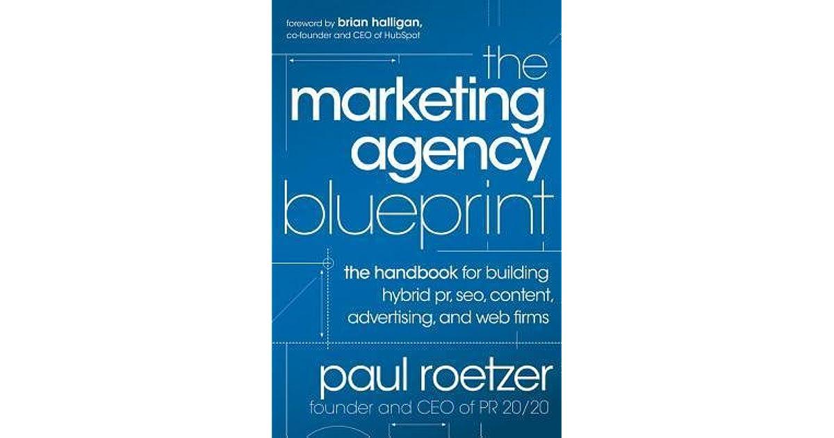 The Marketing Agency Blueprint The Handbook for Building Hybrid PR - fresh blueprint travel agency