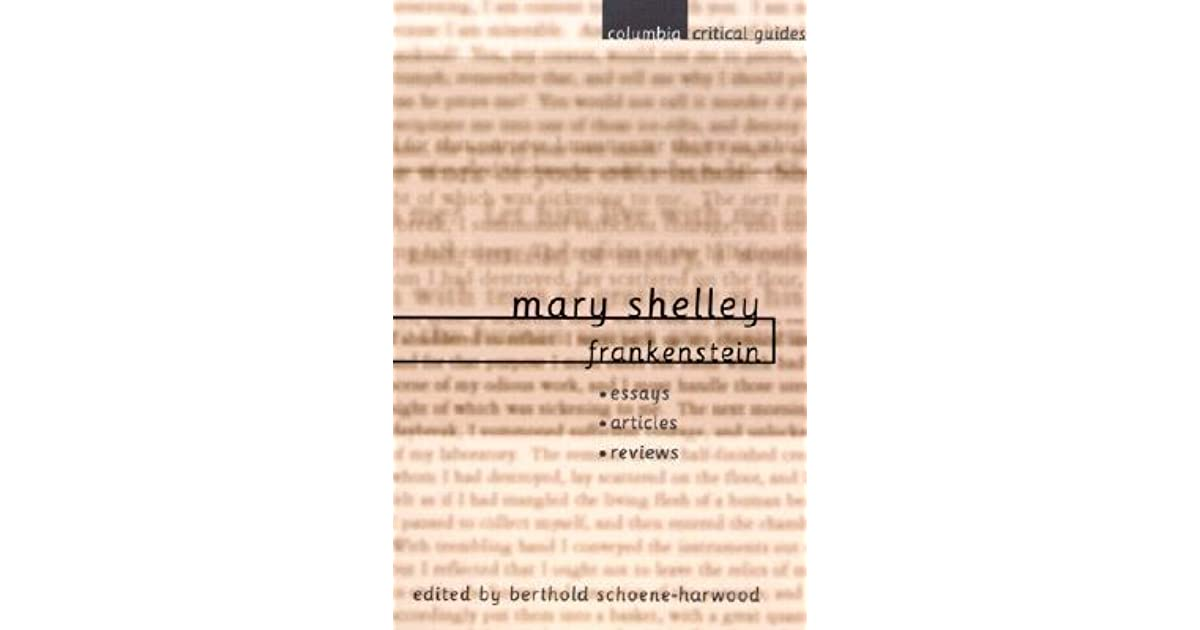 Mary Shelley Frankenstein Essays, Articles, Reviews by Berthold