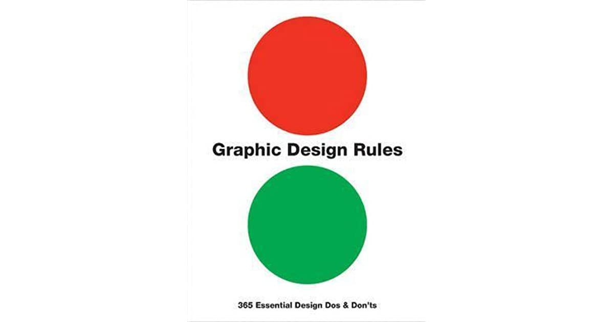 Graphic Design Rules 365 Essential Design Dos and Don\u0027ts by Peter