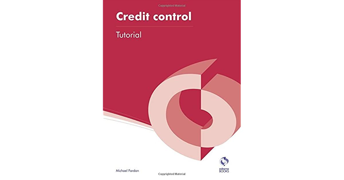 Credit Control Tutorial by Michael Fardon