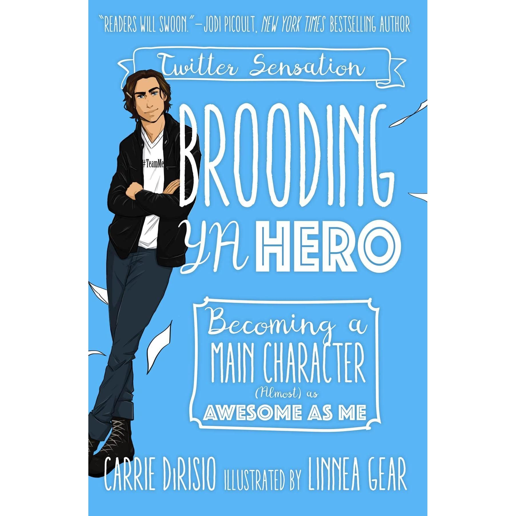 Como Descargar Libros En Goodreads Brooding Ya Hero Becoming A Main Character Almost As Awesome As