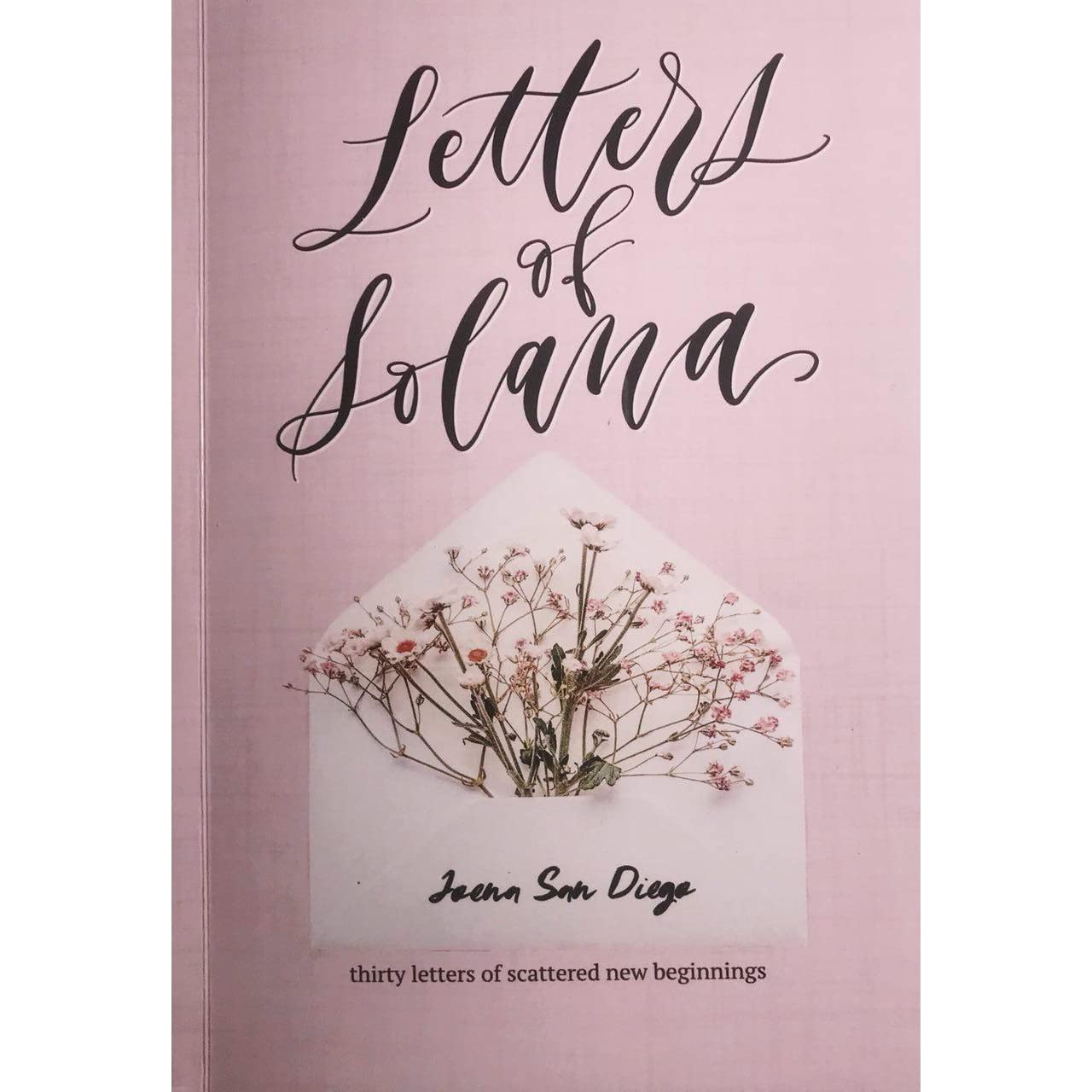 Calligraphy Fonts Books Pdf Letters Of Solana By Joena San Diego