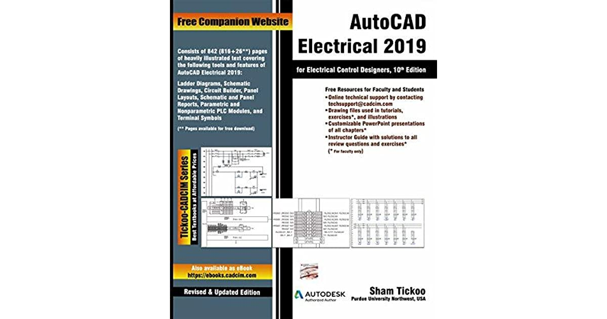 AutoCAD Electrical 2019 for Electrical Control Designers, 10th