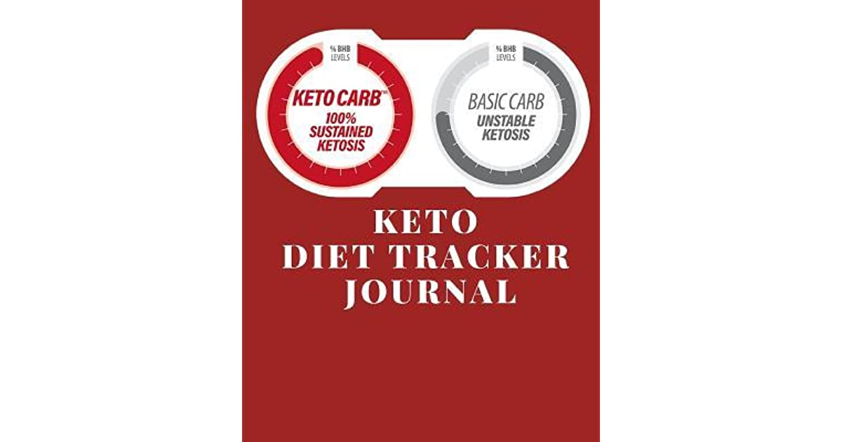 Keto Diet Tracker Journal A Red Theme 90 Day Daily Ketogenic Macros