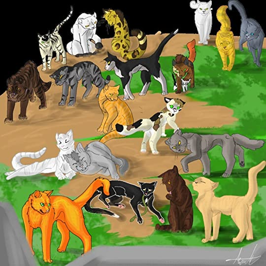 Warrior Cats Wallpaper With Quotes More Warriors Goldenclan In Memory Of Goldenflower