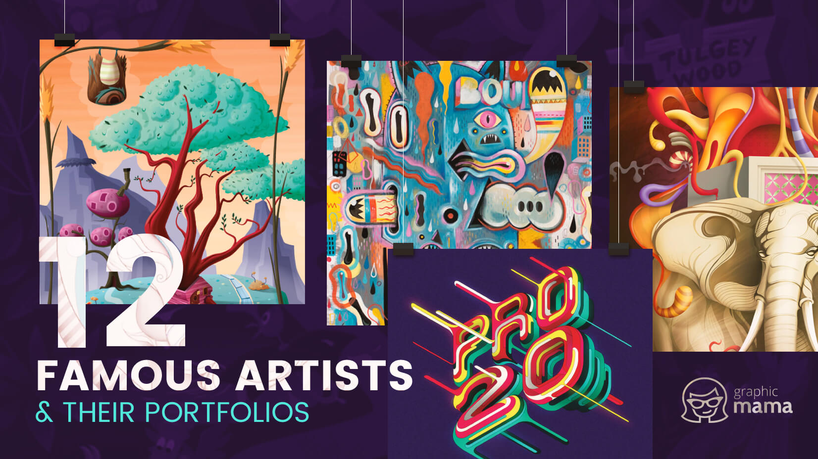 12 Famous Vector Artists And Their Incredible Portofios