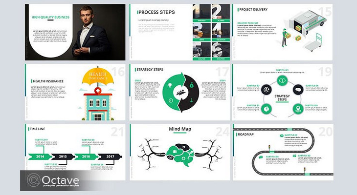 35+ Free Infographic PowerPoint Templates To Power Your Presentations