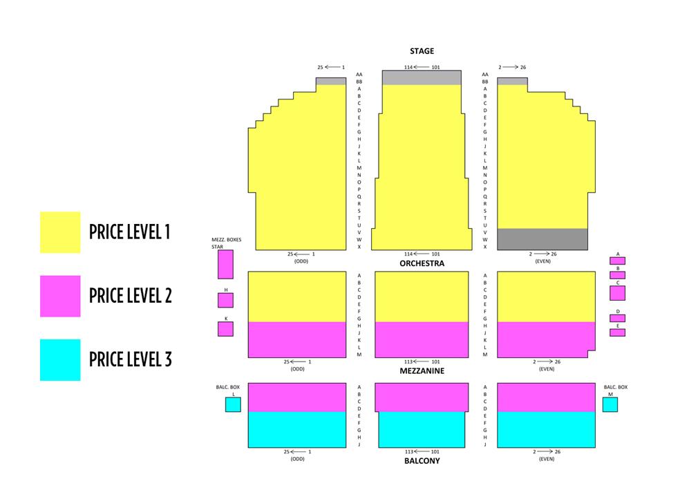 national theater seating chart - Heartimpulsar