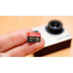 Small Crop Of Sandisk Extreme Pro Microsdhc