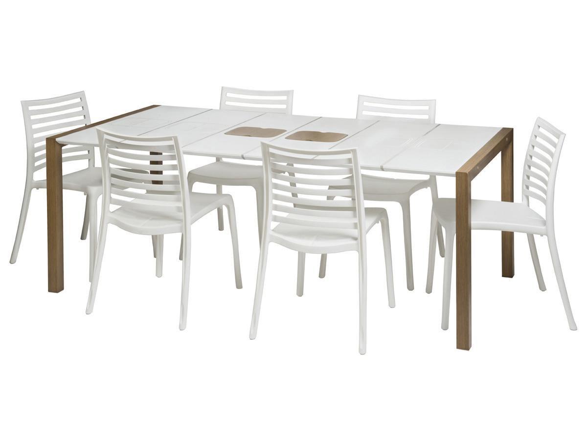 Salon De Jardin Grosfillex Vega Taupe | 30 Table De Salon De Jardin ...