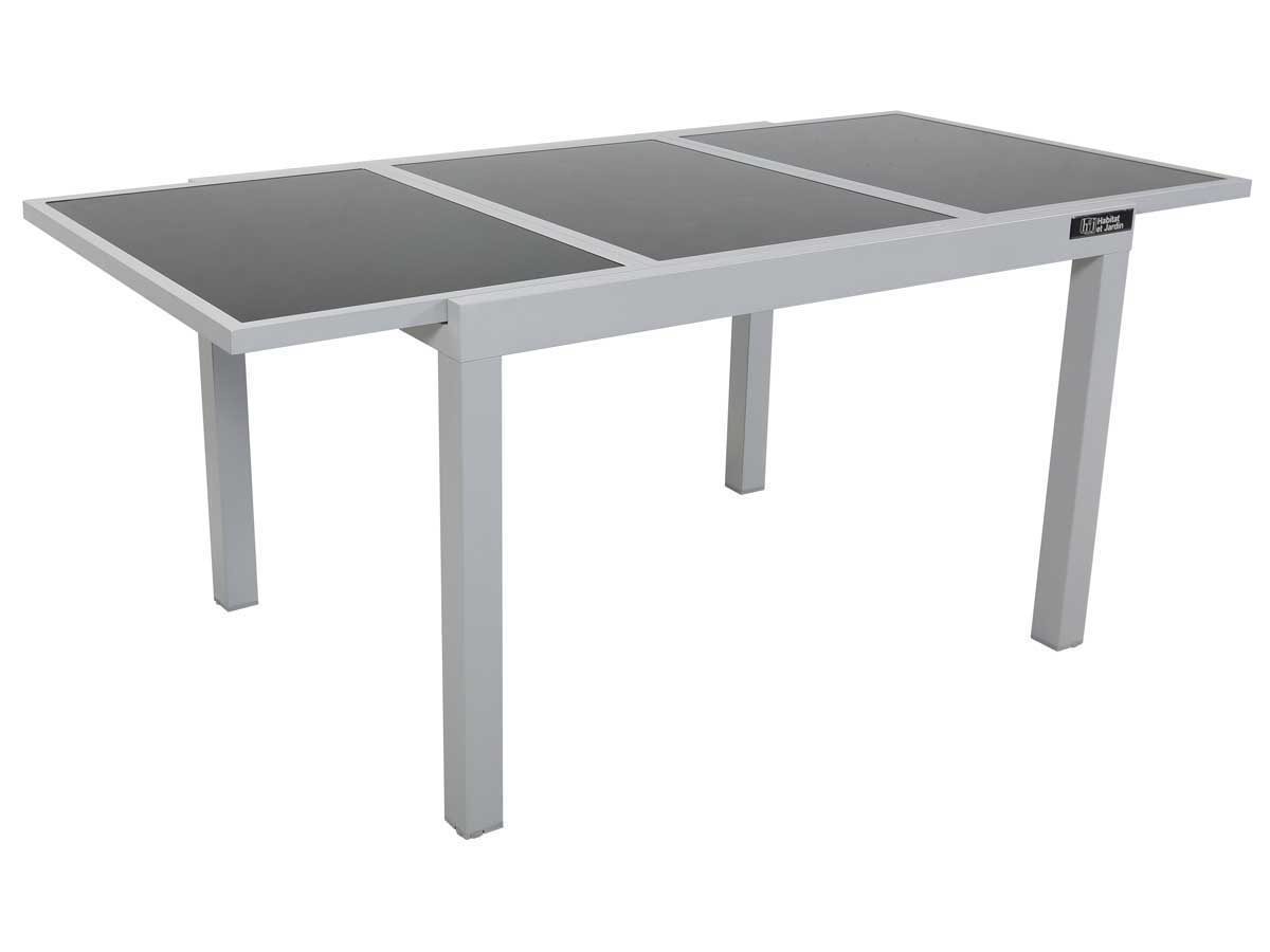 Table De Jardin Alu Et Verre Extensible Table De Jardin Extensible Aluminium Quottropic 8 Quot Phoenix