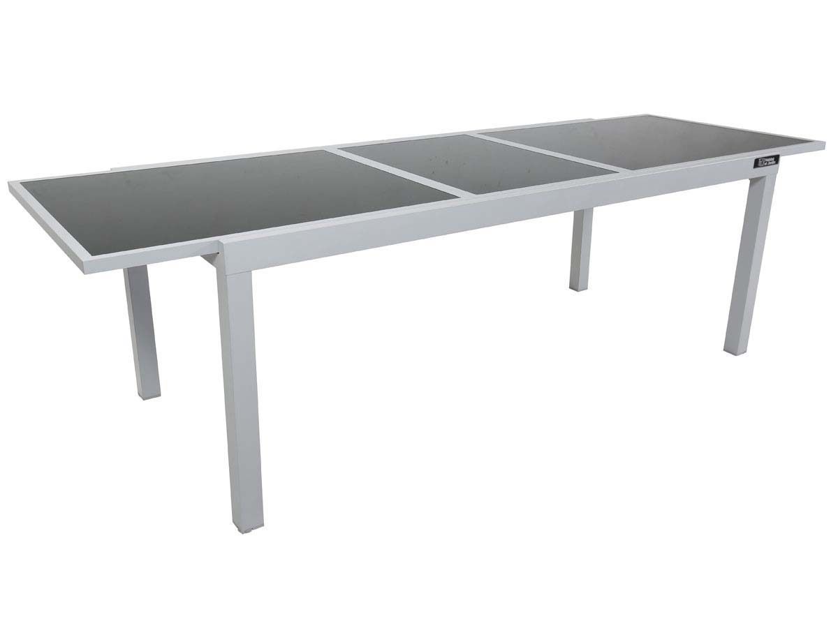 Table De Jardin Alu Et Verre Extensible Table De Jardin Extensible Aluminium Quottropic 10 Quot Phoenix