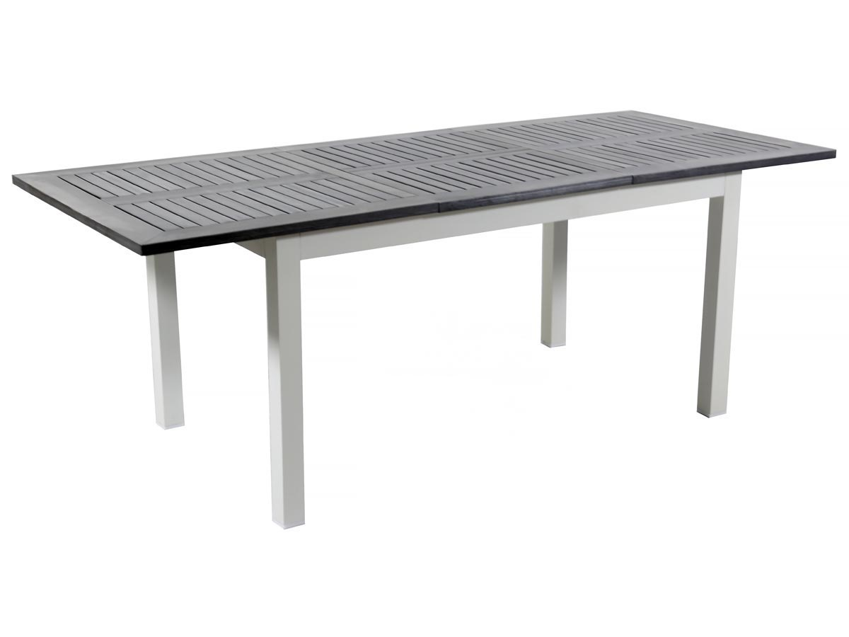 Ensemble Table Extensible Aluminium/verre Brescia Avec 6, 8, 10 Ou ...