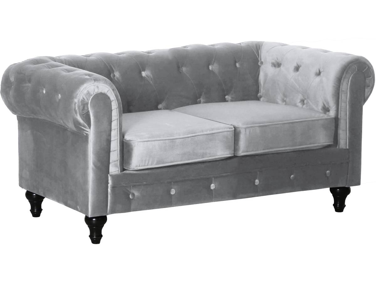 Canapé Chesterfield Gonflable Canapé Fixe Chesterfield Velours