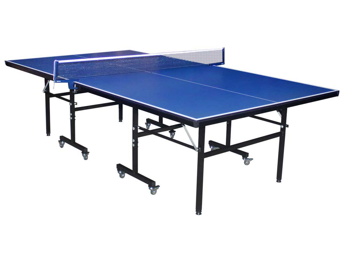 Table Tennis De Table Exterieur Table De Tennis De Table Quothugo Quot 274 X 152 5 Cm Bleu 85371