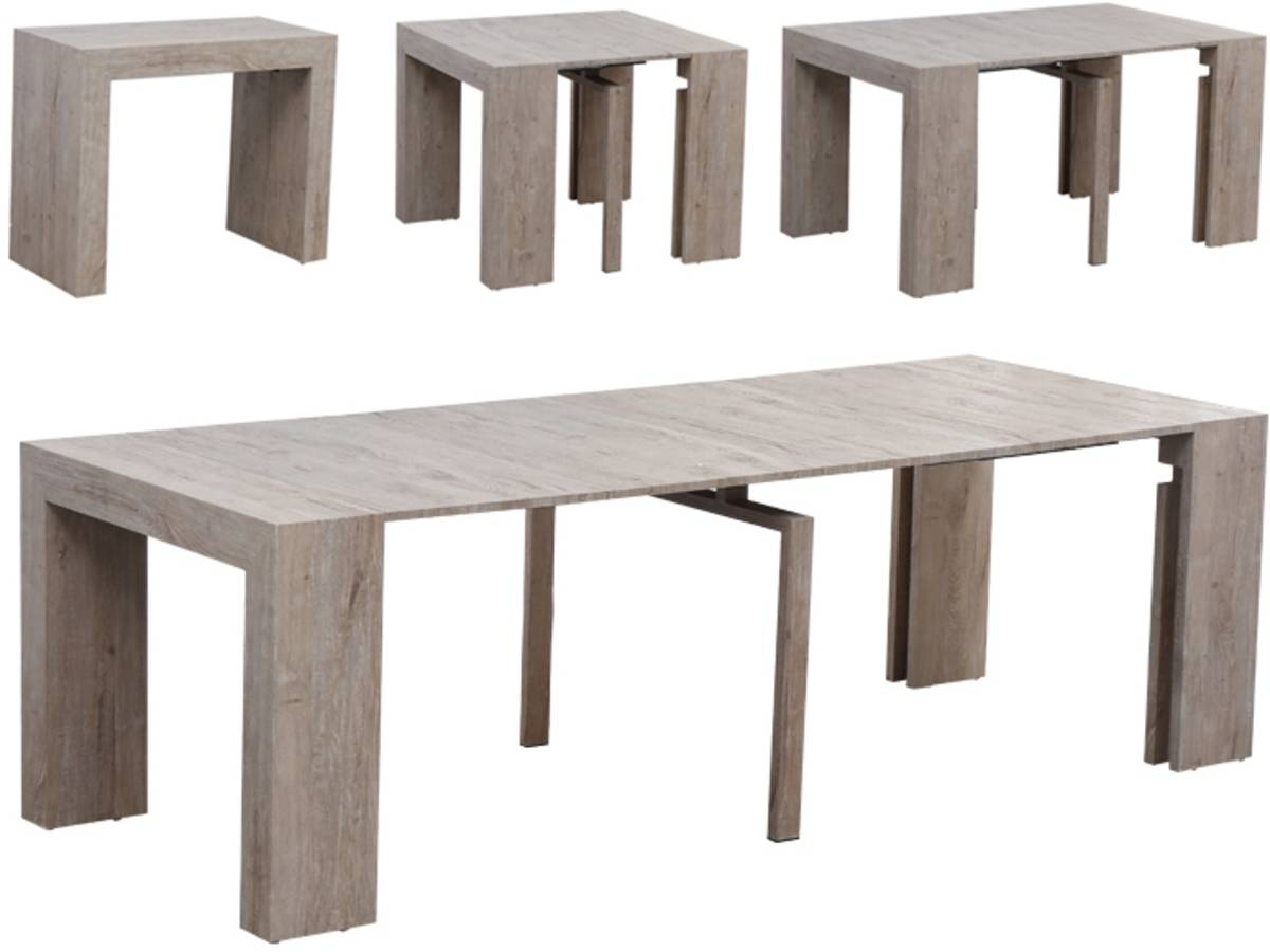 Table Repas Extensible Table Console Extensible