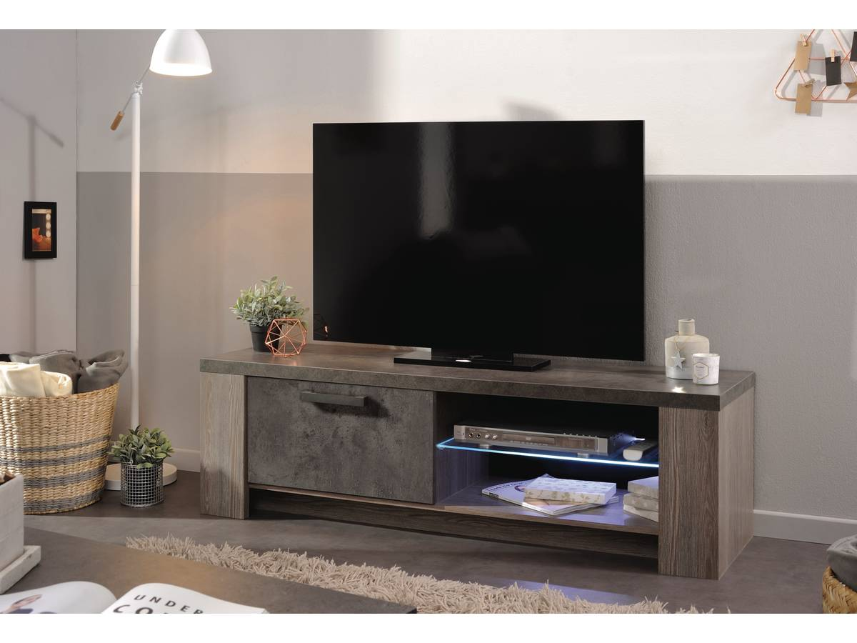 Habitat Meuble Tv Meuble Tv En Mdf Quotgossip Quot 2 Niches 97043
