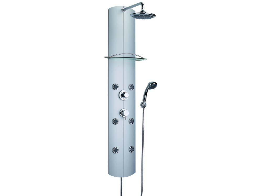 "Douche Thermostatique Colonne De Douche ""totem"" Hydromassante Thermostatique 52685"