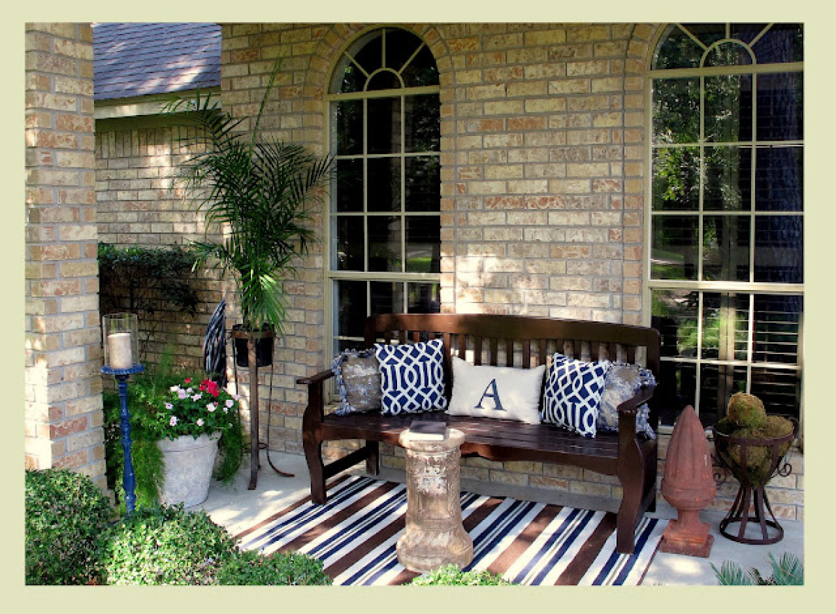 Front Porch Ideas Outdoor Decor: 14 Casual, Comfy Front Porch Ideas | Huffpost