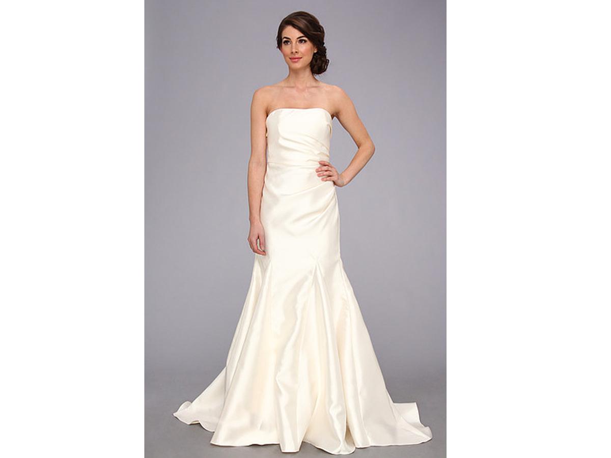 cheap wedding dresses n wedding dress under Badgley Mischka Satin Strapless Gown