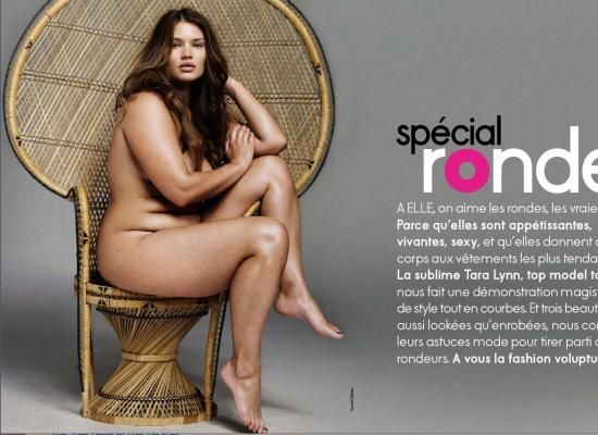 Foto Hot Cut Keke Jpg French Elle Features Plus Size Beauty Tara Lynn PHOTOS POLL x
