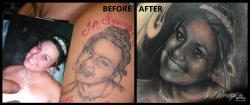 World's Worst Portrait Tattoo' Fixed By Artist Scott Versago At ...