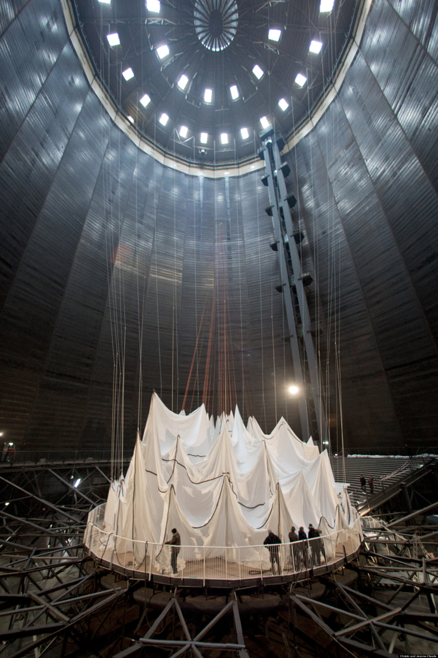 Installation Culture Indoor Christo And Jeanne Claude 39s New Massive Installation 39big