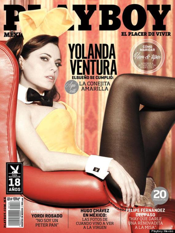 Yolanda Ventura En Playboy De Parch S A Conejita FOTOS