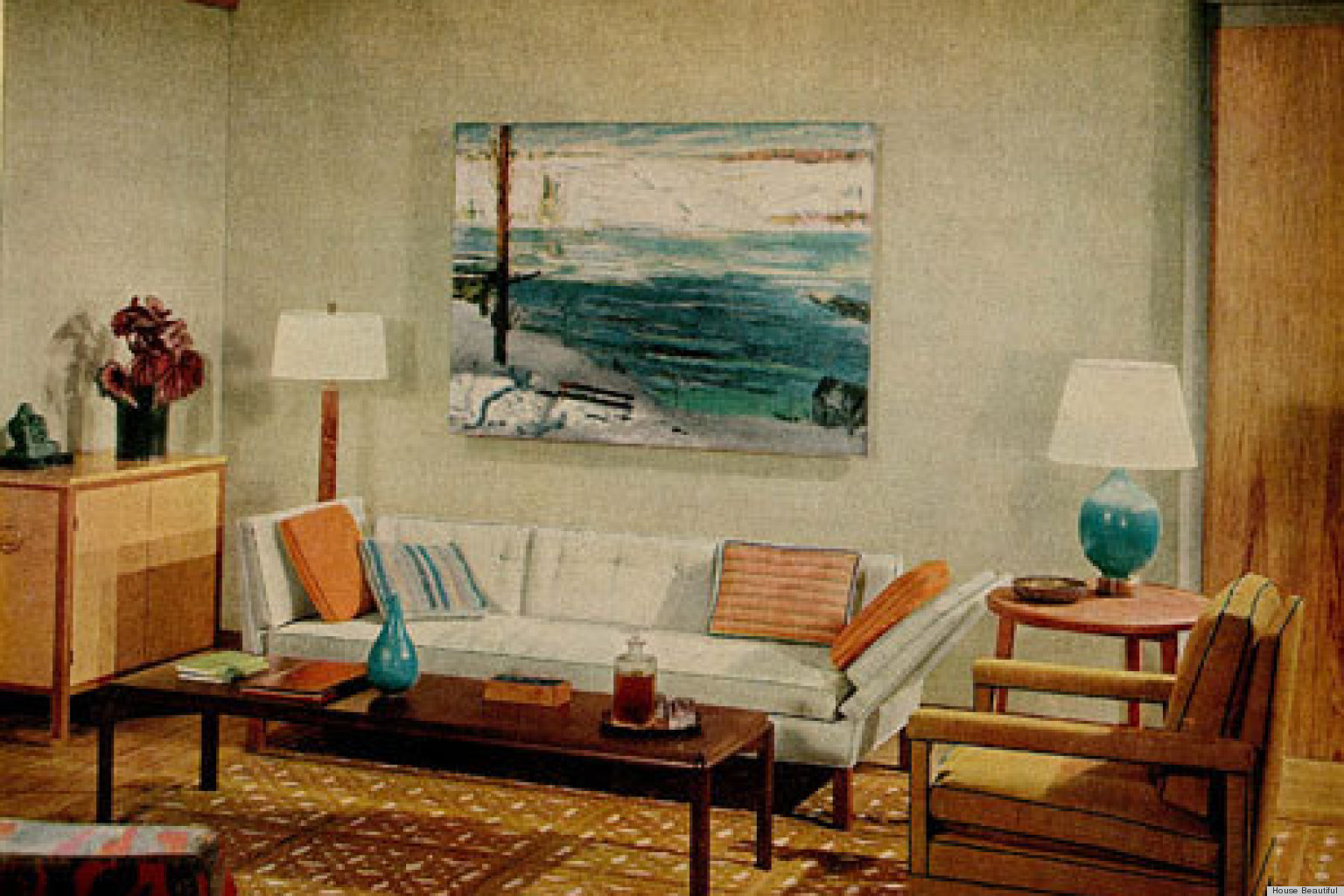 60s Style Couches 1960s Interiors Inspired By 39mad Men 39 From House