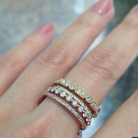 Stackable Wedding Bands Are One Of Our Favorite Jewelry ...