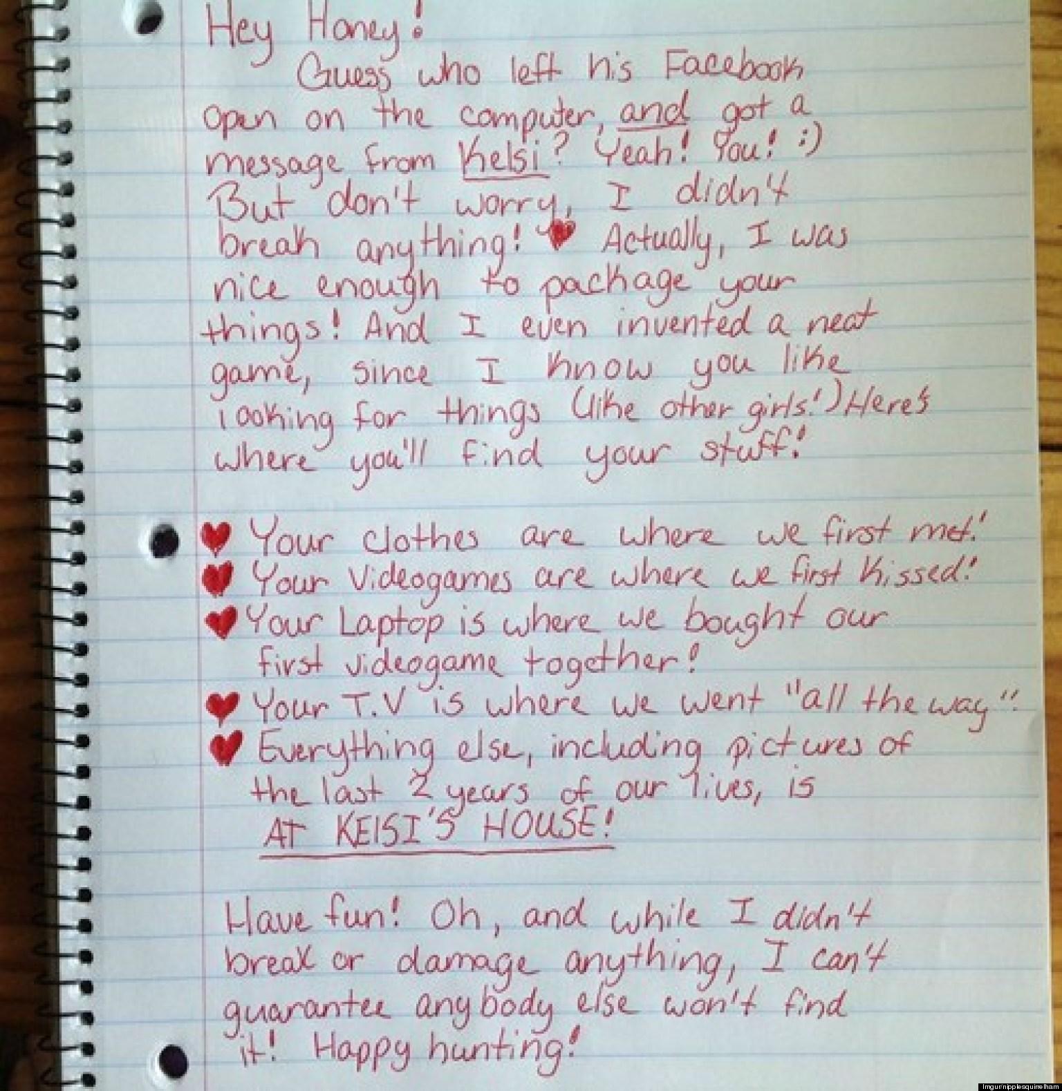 Break Up Letter