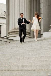 11 Wedding Dresses To Wear To A City Hall Wedding
