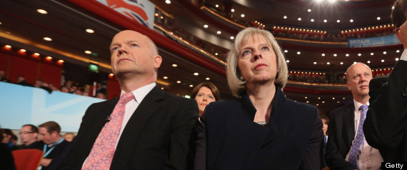 Theresa May William Hague