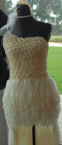 Condom Dress: Wedding Gown Created For Chlamydia Awareness ...