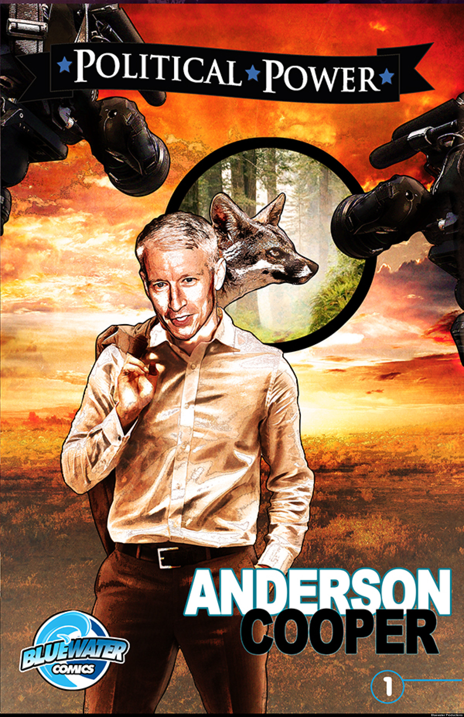 Hays Deutschland Anderson Cooper Comic Book Reflects Cnn Anchor's Life As