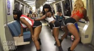 Twerking Flash Mob Takes Over San Francisco (VIDEO) (EXPLICIT LANGUAGE ...