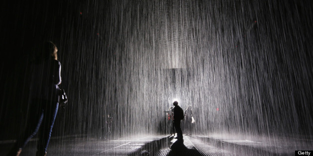 Broken Heart Sad Girl Wallpaper Rain Room S Last Week At Moma Makes Kids Cry Adults Bond