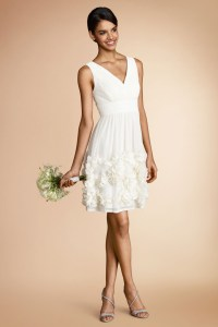 Little White Dresses For Every Wedding Event