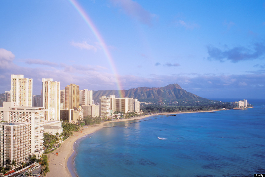 Rainbow Falls Hawaii Wallpaper 17 Photos Of Hawaii Rainbows To Brighten Your Day Huffpost