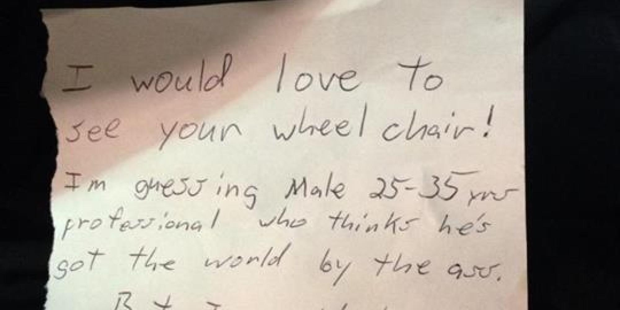 Supreme Car Wallpaper This Woman Wrote The Perfect Response To A Note Left For