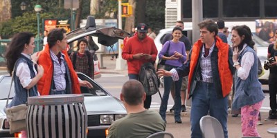 Improv Everywhere Brings 'Back to the Future' To Life In ...