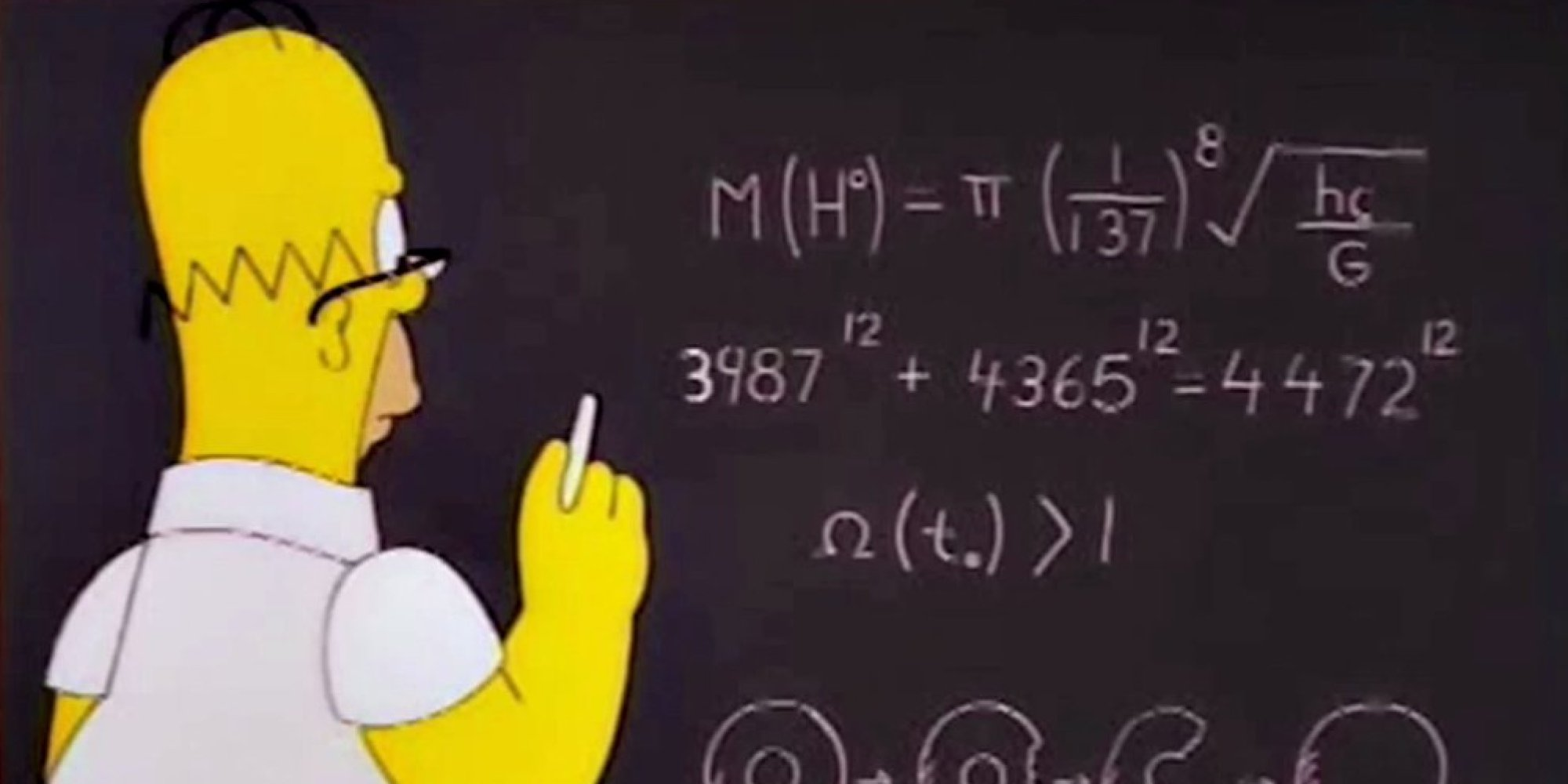 Teaching Maths How The Simpsons Have Secretly Been Teaching You Math Mother Jones