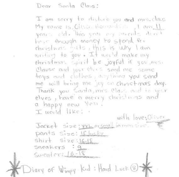 New York Post Office Has 50,000 Santa Letters To Fulfill For Needy
