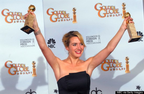 kate winslet golden globes 2009